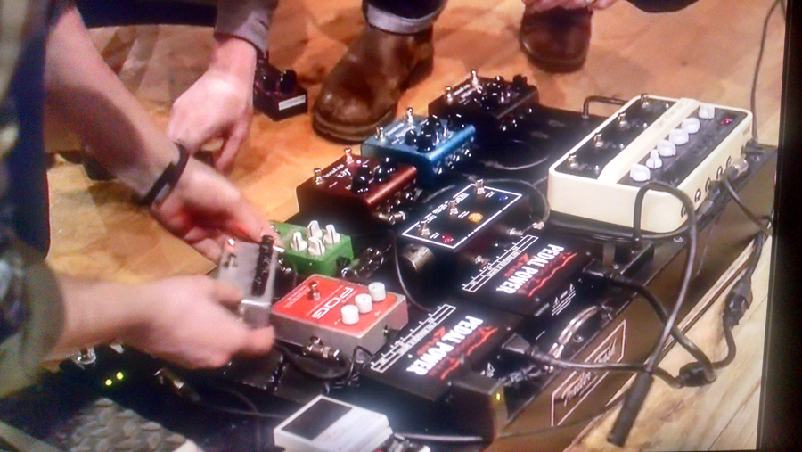 Chris Shiflett - Pedalboard - Foo Fighters