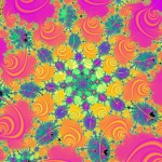 psychedelic fractal spectrum