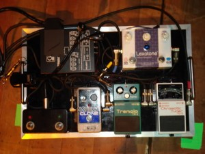 Pat Smear - Foo Fighters - Pedalboard