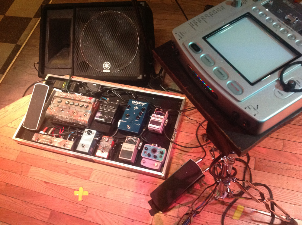 Reeves Gabrels - Imaginary Friends - Pedalboard