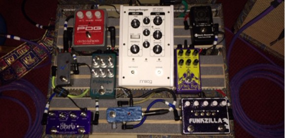 Pedalboard: Matty T of Blu Simon