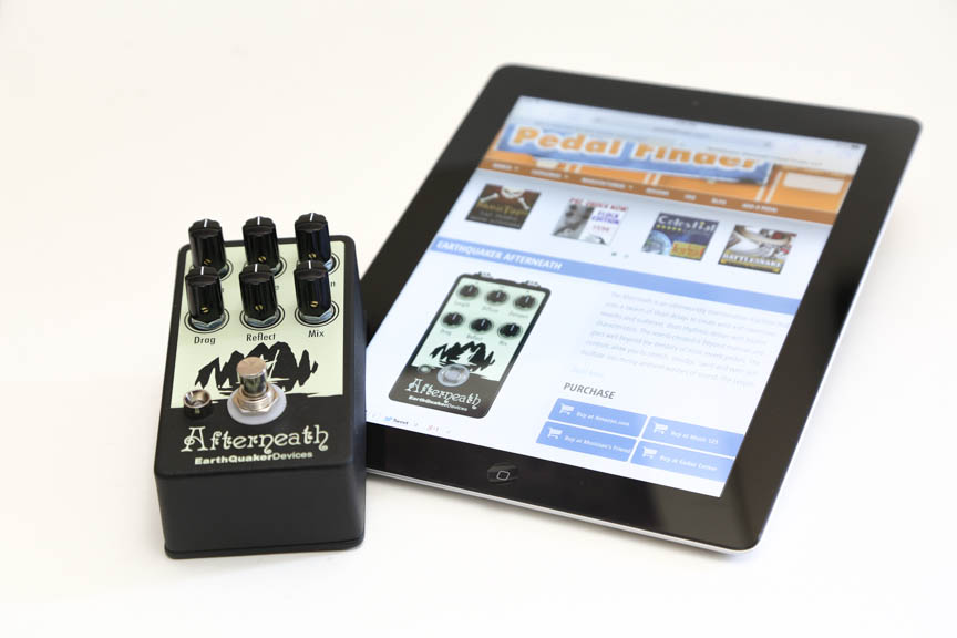 afterneath giveaway pedal finder
