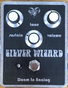 doom in analog silver wizard fuzz
