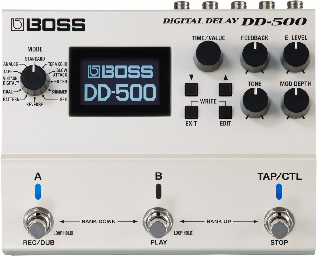 boss dd 500 review