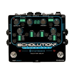 Summer NAMM 2015: Pigtronix Echolution 2 Multi-Tap Delay Pedals