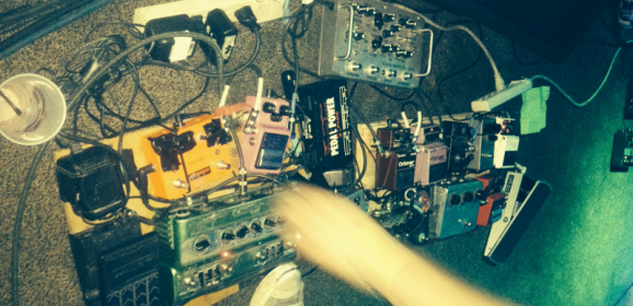 Built To Spill: Jim Roth Pedalboard